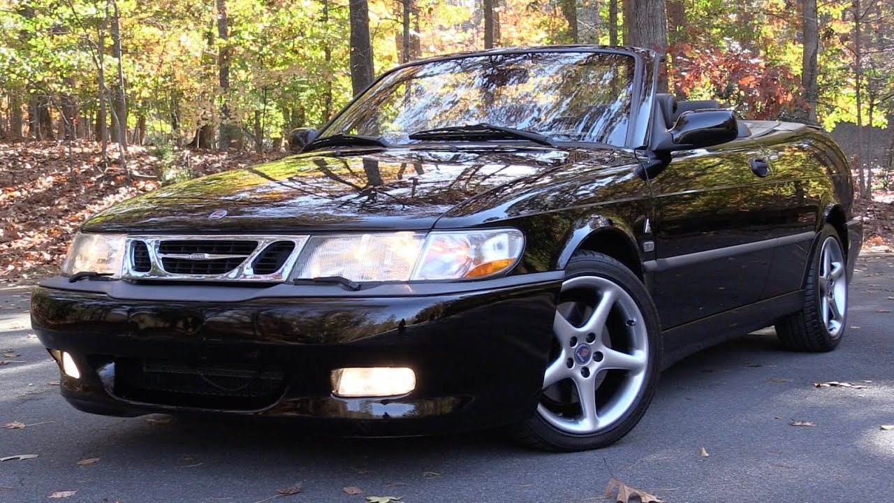 2002 Saab 9-3 Viggen Convertible: Start Up, Test Drive & In Depth Review