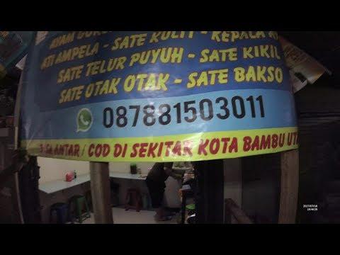 Jakarta Street Food 1708 Part.4 D'Trump Super Hot Chilly Sambal Kacang Mede Pedes Nyelekit