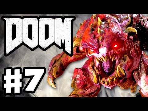 Let's Play DOOM 4 Part 7: Hell On Mars