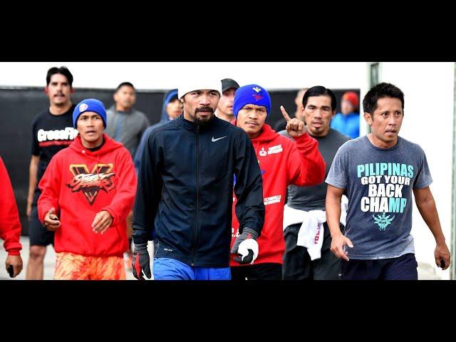 Pacquiao handa ng pabagsakin si Thurman!!!