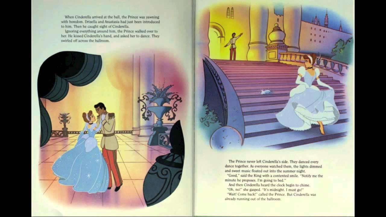 cinderella - walt disney storybook