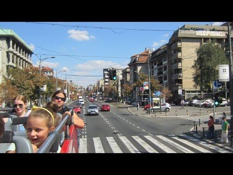Belgrade from Open Top Bus