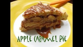 Salted Dulce De Leche Apple Pie