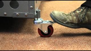 Zinger Aluminium Crate Accessories: Removable Caster Wheels