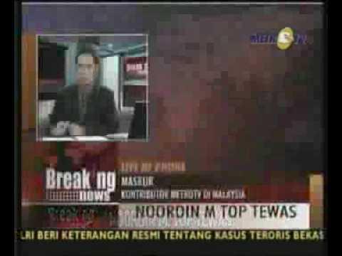 Perburuan Noordin M Top Jadi Pemberitaan di Malaysia