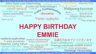 Emmie   Languages Idiomas - Happy Birthday