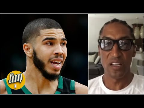 Scottie Pippen on if Jayson Tatum RIGHT NOW can be the best player on a title team | The Jump