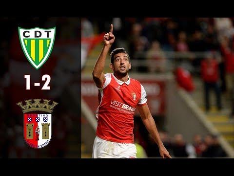 Resumo - Liga NOS ● Tondela 1-2 Braga ● 2017/18 ● Jornada 7