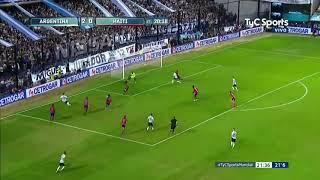 ¡MESSI HACE EL TERCERO! ¡QUÉ BUEN PASE DE PAVÓN! 3 - 0 - Gentv