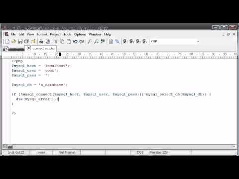Beginner PHP Tutorial - 136 - Logging The User In Part 1