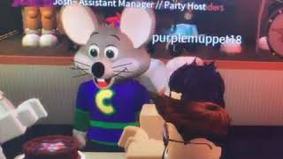 Chuck E Cheese Roblox Essex MD Birthday Star 2018 Part 2