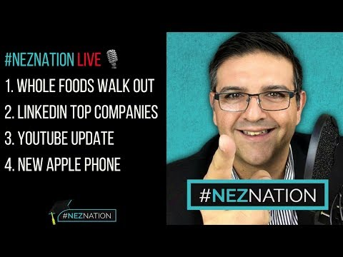 Top News Stories Today in Digital Media, Communications and Business: #NEZNATION LIVE (ep. 002)
