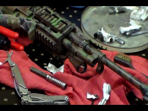 M-14/M1A gas system, Disassembly and Cleaning