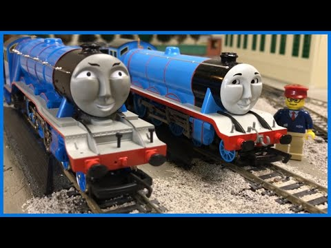 GORDON THE BIG ENGINE OO GAUGE HORNBY vs HO SCALE BACHMANN – Thomas and Friends Trains