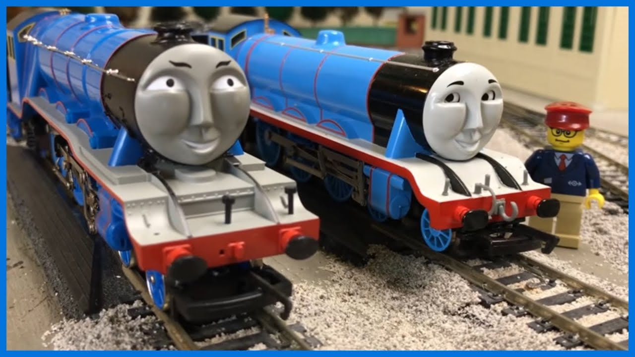Gordon The Big Engine Oo Gauge Hornby Vs Ho Scale Bachmann