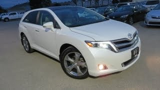 2014 Toyota Venza Limited AWD V6 Start up, Walkaround and In Depth Tour