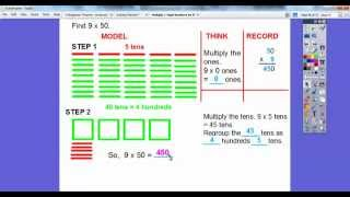 Multiply Multiples of 10 by 1-Digit Numbers - Lesson 5.5