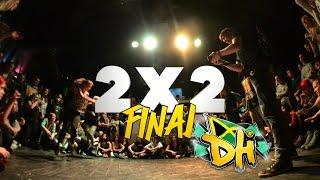 DANCEHALL INTERNATIONAL 2015 - DANCEHALL FINAL 2X2 - MARTA & DEE vs KATRIN WOW & CLAUDIO (win)