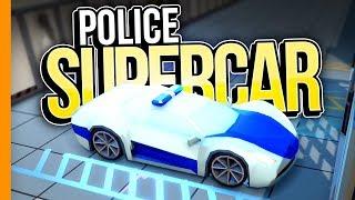 POLICE SUPER CAR // Rescue HQ - Part 5