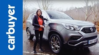 SsangYong Rexton 2018 SUV review - Ginny drives Korea