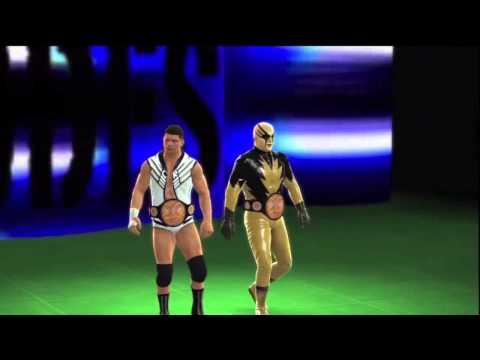 WWE 13 Goldust et Cody Rhodes entrance