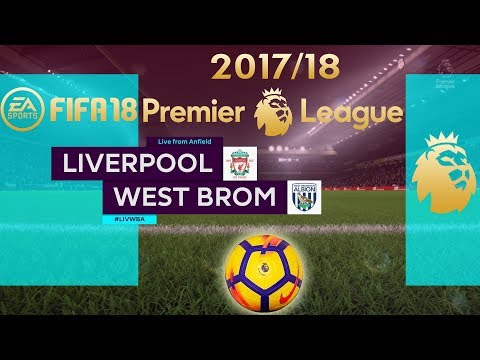 FIFA 18 Liverpool vs West Brom | Premier League 2017/18 | PS4 Full Match
