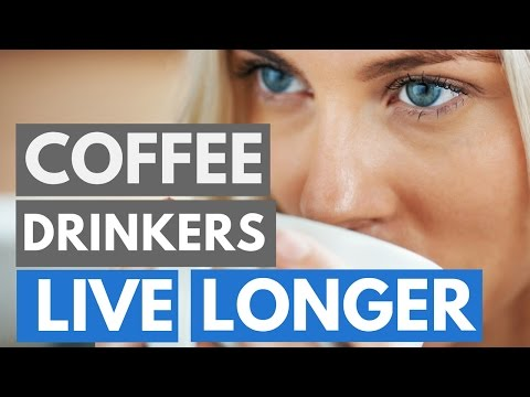 Science: Coffee Drinkers Live Longer!?