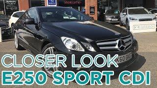 Closer Look: Mercedes Benz E250 BlueEfficiency Sport CDI A