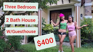 New 3 Bedroom 2 Bath House in Valencia Philippines, Old Dog New Tricks