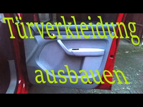 Türverkleidung ausbauen | VW Caddy Volkswagen | How to remove a door panel - YouTube