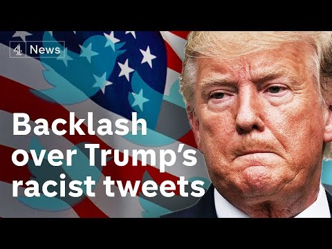"""Trump says his racist tweets are """"not at all"""" racist"""