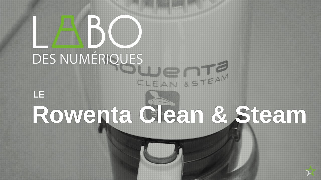 test de l 39 aspirateur balai rowenta clean steam youtube. Black Bedroom Furniture Sets. Home Design Ideas