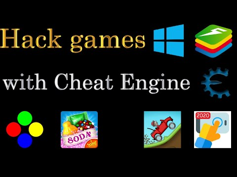 cheat engine co hack duoc game online khong - Hack games with Cheat Engine (Windows, Bluestacks)