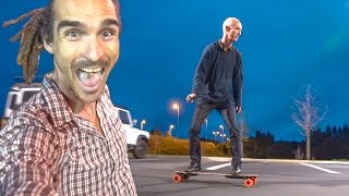MY DAD BOOSTED BOARDING?