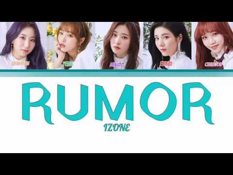 IZ*ONE(아이즈원) 'RUMOR' -|How Would| [color Code|Han|Rom|Eng]