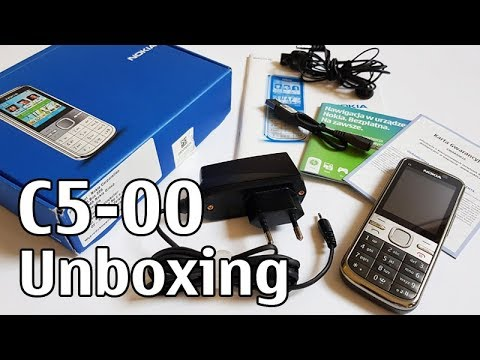 Nokia C5 Unboxing 4K with all original accessories RM-645 review