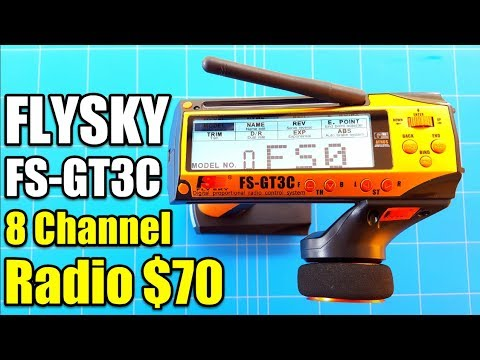 FLYSKY FS-GT3C REVIEW Best 8 Channel Budget Radio For Rc Cars and Boats  LESS THAN 80 BUCKS