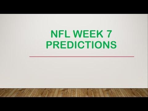 2016 NFL Week 7 Picks and Predictions
