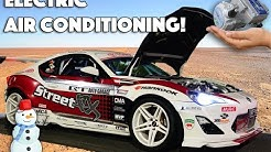 How we set up ELECTRIC AIR CONDITIONING in our 1300 hp road-going race car