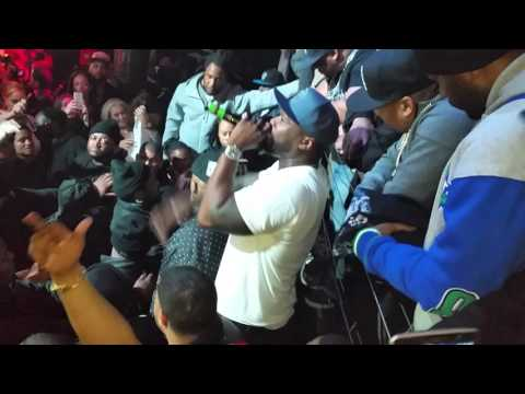 50 CENT LIVE  @STAGE 48 NYC , EFFEN VODKA, THERE WAS NO FIGHT. ONLY OVERLY EXCITED FANS,,