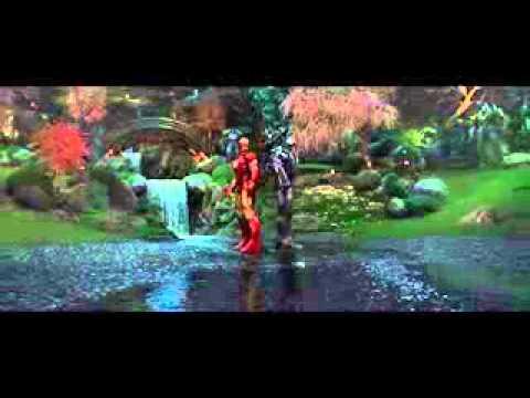 Iron Man and War Machine vs Hammer Drones Iron Man 2 - YouTube