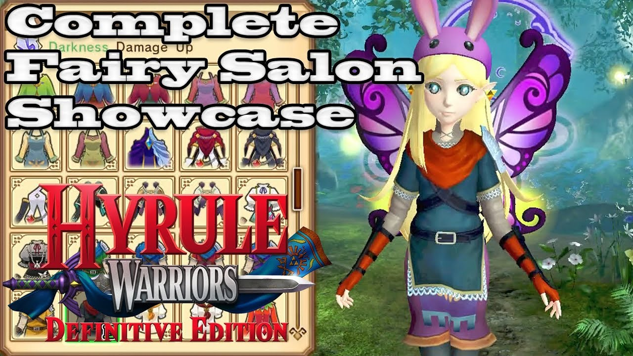 Hyrule Warriors Definitive Edition Complete Costume Showcase Youtube