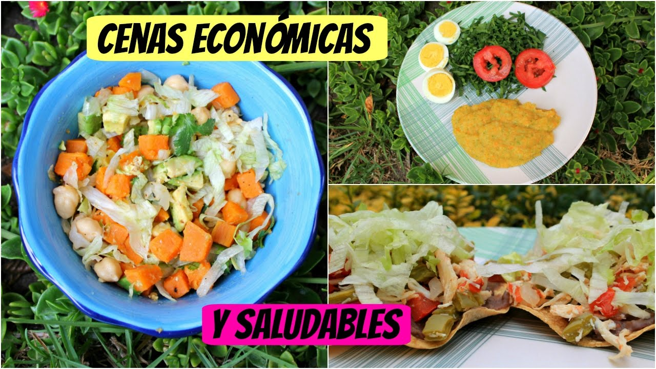 cenas econ micas y saludables menos de 1 usd youtube On comidas rapidas y saludables y economicas
