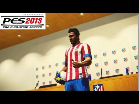 PES 2013 BECOME A LEGEND Especial: JoseManu llega al Atletico Madrid