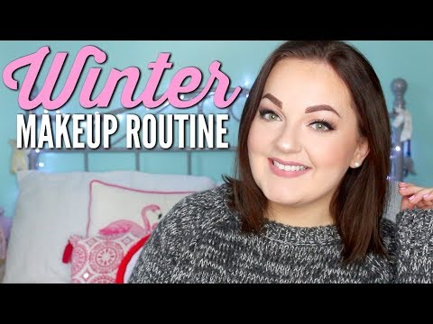 CHATTY WINTER MAKEUP ROUTINE! Where I've been + seeing Hamilton | Catherine Mitchell
