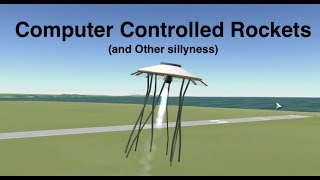 Computer Controlled Vessels For Kerbal Stunt Flying