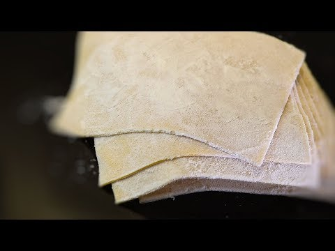Chinese Handmade Egg Wonton Wraps (Chinese Recipe) The Easy Way