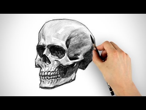 How To Draw A Skull With Roses Tattoo Skull Drawings Skulls