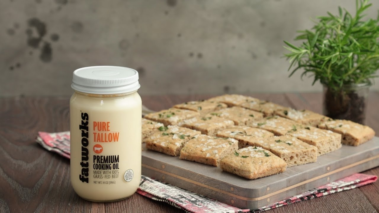 Gluten Free Focaccia Bread With Beef Tallow Recipe Thrive