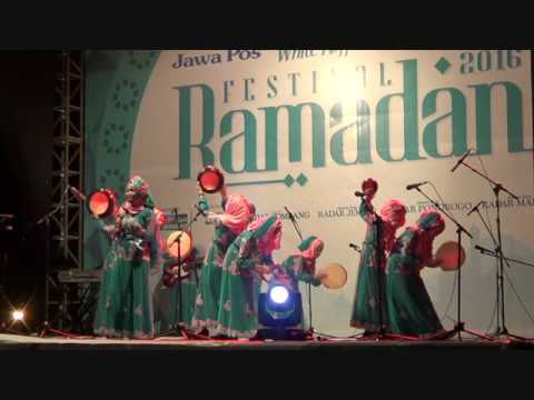 Qasidah Rebana Ponpes Modern  Al-Fatimah Bojonegoro Festival Ramadhan Jawa Pos 2016